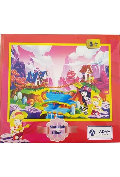 Adam Games Mutluluk Ülkesi 120 Parça Puzzle (28X40)