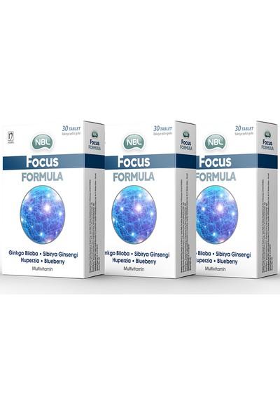 Nbl Focus Formula 30 Tablet 3 Adet