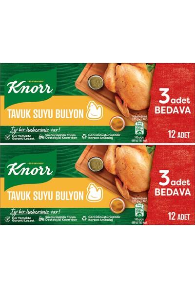 Knorr Tavuk Suyu Bulyon 12 x 10 gr Ikili Set