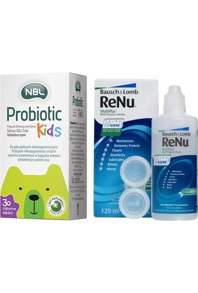 Nbl Probiotic Kids 30 Çiğneme Tableti Renu Multiplus 120 ml
