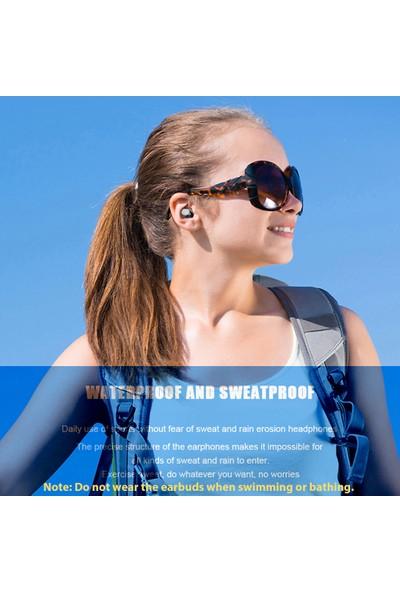 Buyfun F9-8 Tws Bt Kablosuz Kulaklık Bt 5.0 Hifi Stereo (Yurt Dışından)