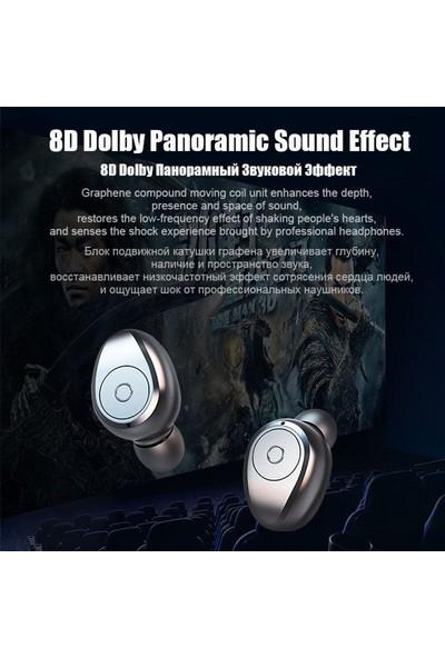 Buyfun F9 Tws Stereo Bluetooth 5.0 Kulaklık (Yurt Dışından)