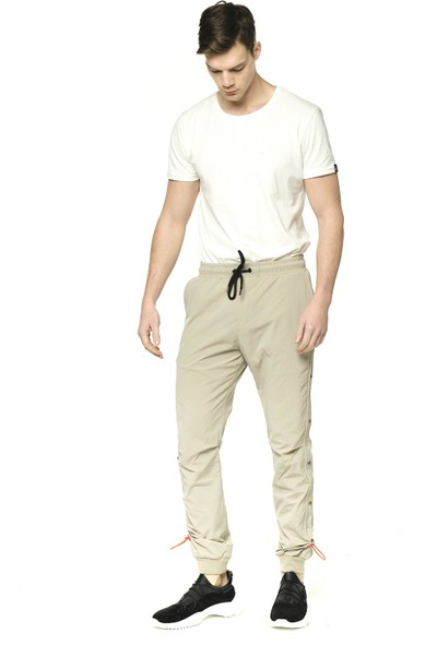 Cekmon Paraşüt Kumaş Yandan Lastikli Erkek Jogger Yazlık Pantolon