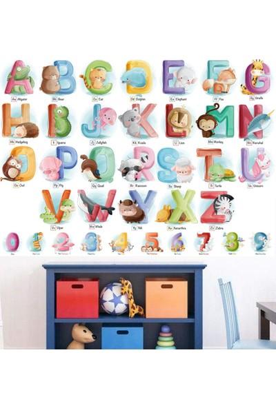 DEVO (Dergi ve Oyun) Sevimli Hayvanlar Ingilizce Alfabe Poster