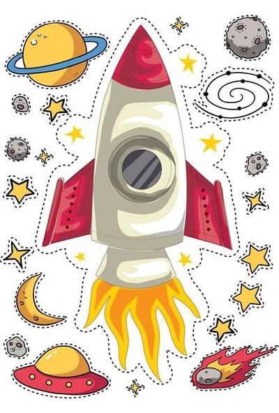DEVO (Dergi ve Oyun) Uzay Yolu Sticker Seti S1