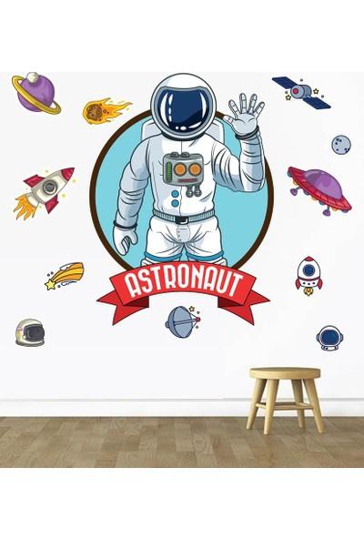 DEVO (Dergi ve Oyun) Astronot Sticker Seti S1