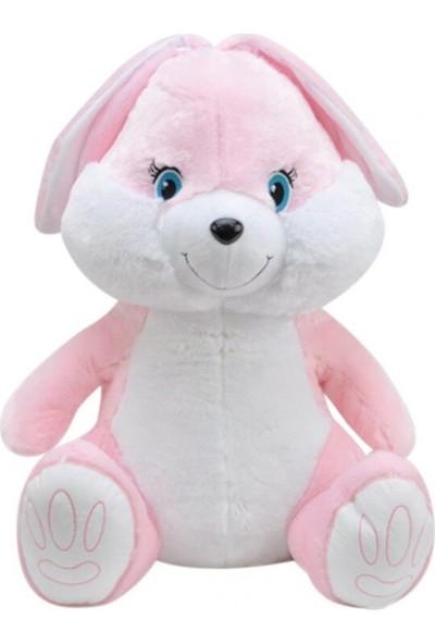 Selay Oyuncak Pembe Tavşan Peluş 58 cm 1273