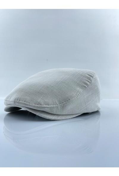 mercantoptan Yazlık Krem Erkek Şapka Spor London Kasket