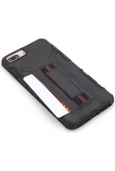 """Case Markt Apple iPhone x (5.8"""") Cepli Deri – Silikon Telefon Kılıfı"""