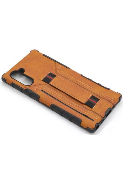 Case Markt Samsung Galaxy Note 10 Cepli Deri – Silikon Telefon Kılıfı