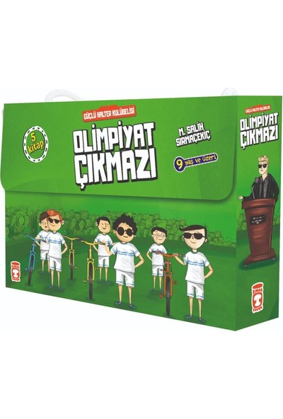 Timaş Yayınları Olimpiyat Çıkmazı Güçlü Halter Kulübelisi Set 5 Kitap Takım
