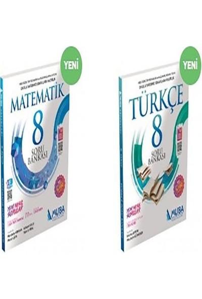 Muba 8. Sınıf Türkçe-Mat Soru Bankası Seti