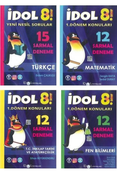 Idol 8. Sınıf 1. Dönem 4lü Sarmal Deneme Seti