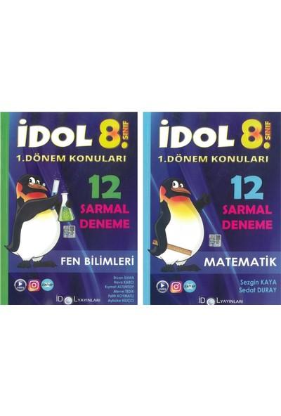 Idol 8. Sınıf 1. Dönem Matematik-Fen Sarmal Deneme Seti