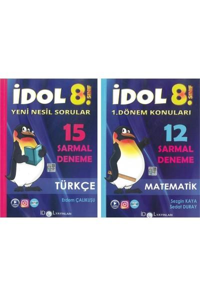 Idol 8. Sınıf 1. Dönem Matematik-Türkçe Sarmal Deneme Seti