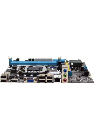 Esonic H55-KEL Intel H55 1333 MHz DDR3 Soket 1156 Mini ITX Anakart