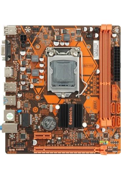 Esonic H61FHL Intel H61 1333MHZ Ddr3 Soket 1155PIN Matx Anakart