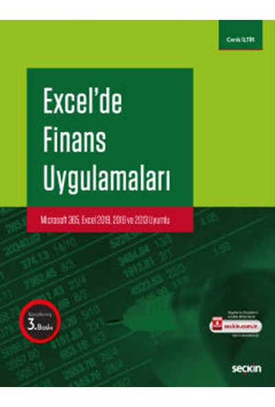 Excel'de Finans Uygulamaları Microsoft 365 - Excel 2019 - 2016 ve 2013 Uyumlu - Cenk İltir