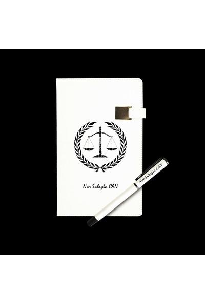Mybamba Kişiye Özel Savcıya Avukata Hakime Ajanda + Kalem 3