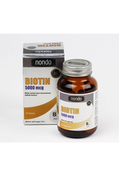 Nondo Biotin