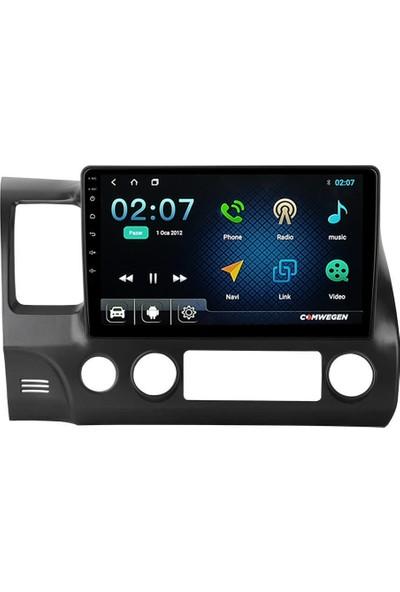 COMWEGEN Honda Civic Fd6 Kablosuz Carplay 4gb Android Multimedya Navigasyon Teyp