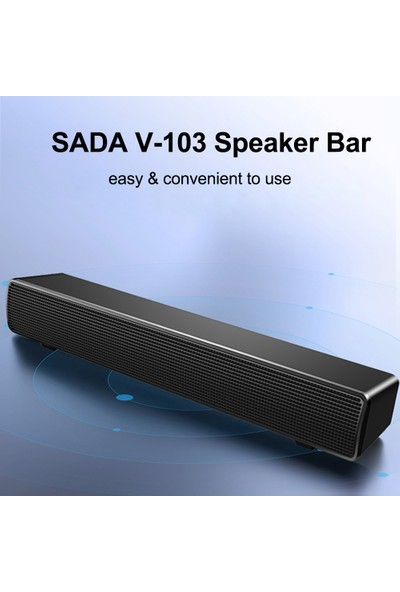 Sada V-103 Soundbar (Yurt Dışından)