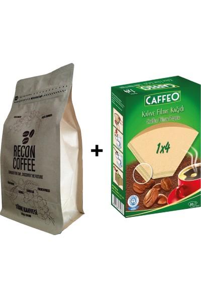 Recon Coffee Colombıa Filtre Kahve 250 gr + Filtre Kağıdı 1 x 4
