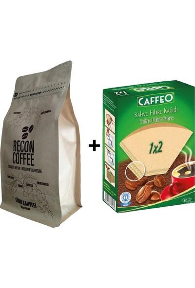 Recon Coffee Colombıa French Press 250 gr + 1 x 2 Filtre Kağıdı