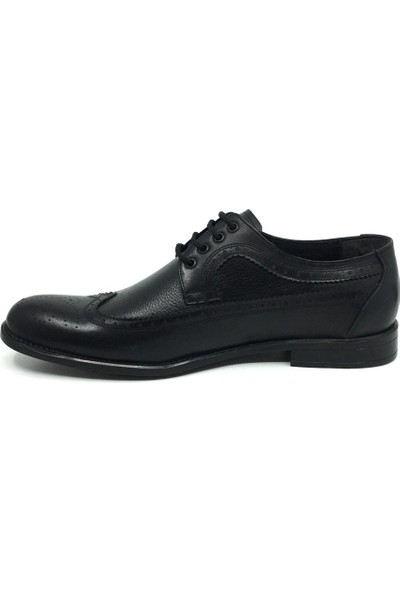 Öz Soylu %100 Deri Erkek Yazlık Rahat Klasik Büyük Ayakkabı 45-47