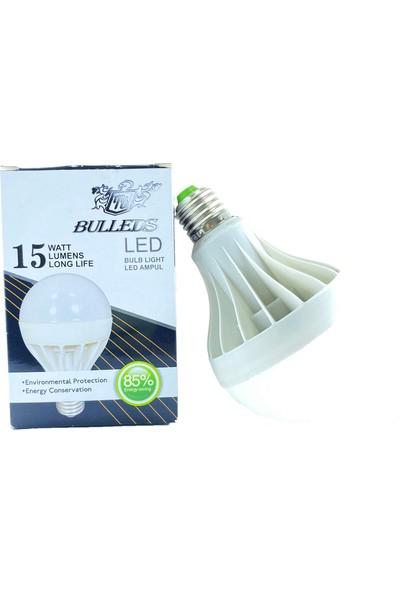 Bulleds LED Ampul 15 W Beyaz ( 3 Adet )