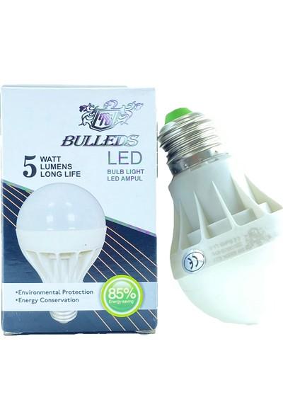 Bulleds LED Ampul 5 W Beyaz (3 Adet)