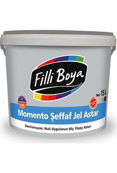 Filli Boya Momento Şeffaf Jel Astar 2,5 Lt