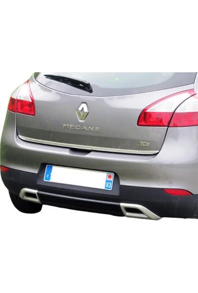 Blueoto Renault Megane 3 Hb Krom Bagaj Alt Çıtası Paslanmaz Çelik
