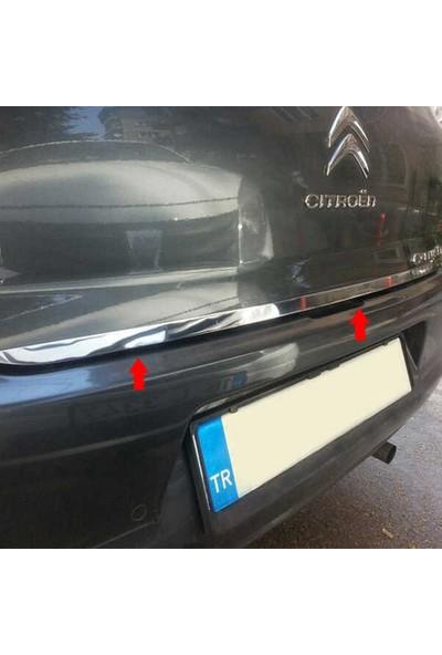 Blueoto Citroen C Eylese 2012-2019 Krom Bagaj Alt Çıtası Paslanmaz Çelik