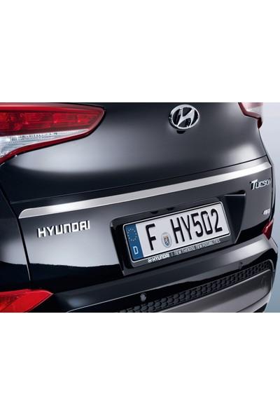 Blueoto Hyundai Tucson (2015-2018 )Krom Bagaj Alt Çıtası Paslanmaz Çelik