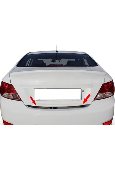 Blueoto Hyundai Accent Blue (2011-2019 )Krom Bagaj Alt Çıtası Paslanmaz Çelik