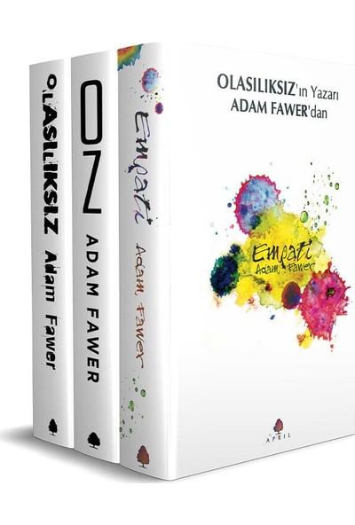Adam Fawer 3 Kitap Set - Olasılıksız - Empati - Oz