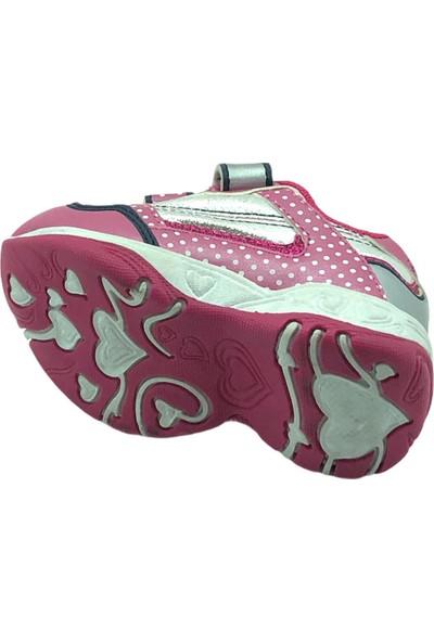 Minnie Serhatlar Pembe Miki Mause Kız Bebek Spor Ayakkabısı