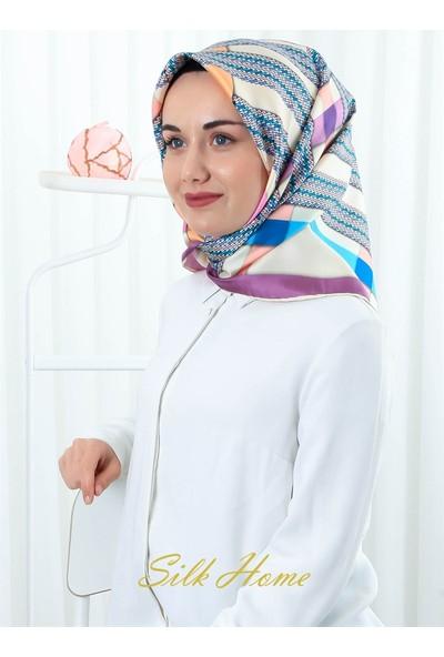 Silk Home %100 Twill Ipek Eşarp 11239-08