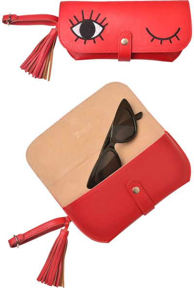 Bakras Çanta ve Kemere Takılabilen Gözlük Kılıfı-Çok Amaçlı Çanta