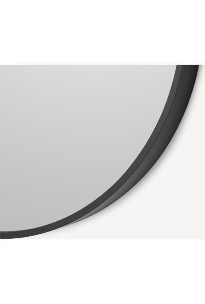 Karaçam Dekor Dekoratif Metal Çerçeveli Yuvarlak Ayna