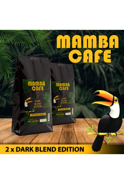 Mamba Cafe Dark Blend Edition Öğütülmüş Filtre Kahve 250 Gr x 2