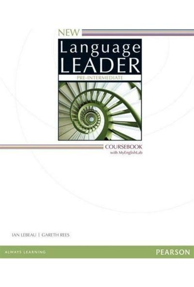 Pearson Education Yayıncılık New Language Leader Pre-Intermediate Coursebook