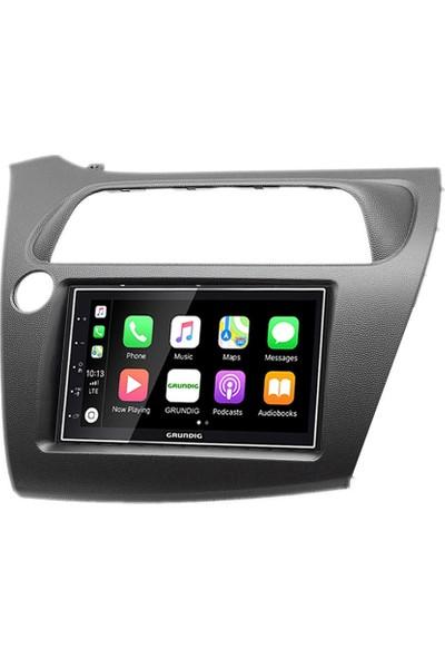 Grundig Honda Civic Hatchback Carplay Androidauto Multimedya Sistemi
