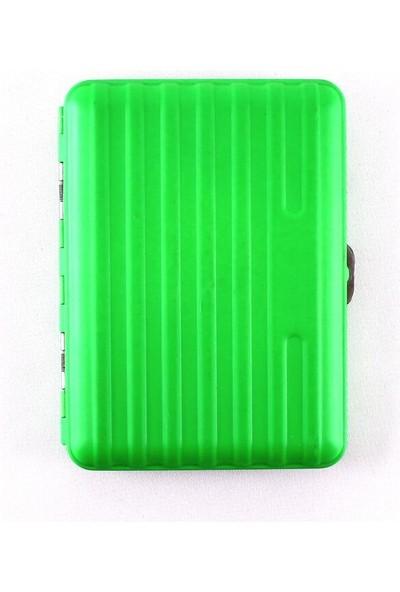 Champ Bavul Desen Yeşil Kısa Sig. Tabakası 16LI