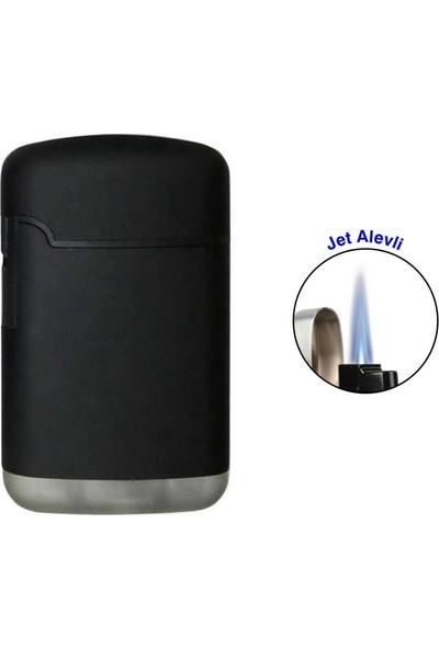 Easy Torch Tek Alev Puro Çakmağı Rubber Siyah 0201901