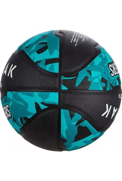 Tarmak 6 Numara Siyah Turkuaz Basketbol Topu R300