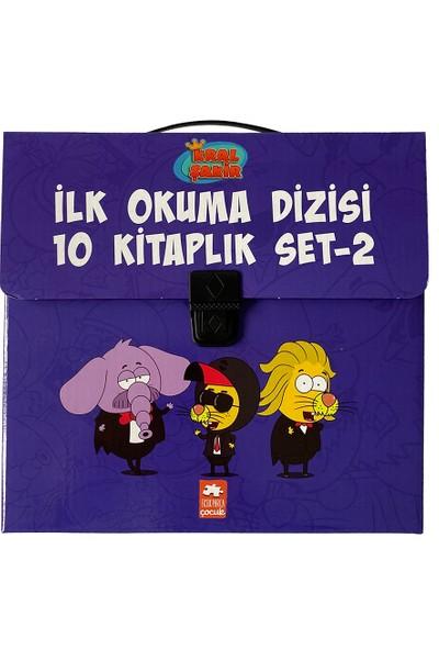 Kral Şakir Ilk Okuma Dizisi 2.seri Çantali Set-2 (10 Kitap) - Varol Yaşaroğlu