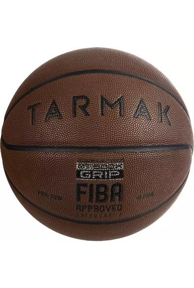 Tarmak 7 Numara Basketbol Topu Kahverengi BT500 Grip