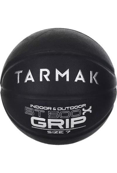 Tarmak 7 Numara Siyah Basketbol Topu BT500 Grip